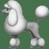 Poodle emoji, Apple's Poodle emoji, Apple version of the Poodle emoji