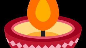 Twitter's Diya Lamp emoji, Diya Lamp emoji, Diwali emoji