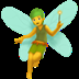 Fairy emoji, Apple's version of the Fairy emoji, Halloween emojis