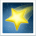 Shooting Star emoji, Apple's version of the Shooting Star