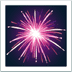 Fireworks emoji, Apple's Fireworks emoji