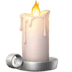 Candle emoji, Apple version of the Candle emoji