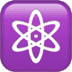 Atom or Om emoji, Apple's version of the Atom or Om emoji