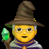Mage emoji, Apple version of the Mage emoji