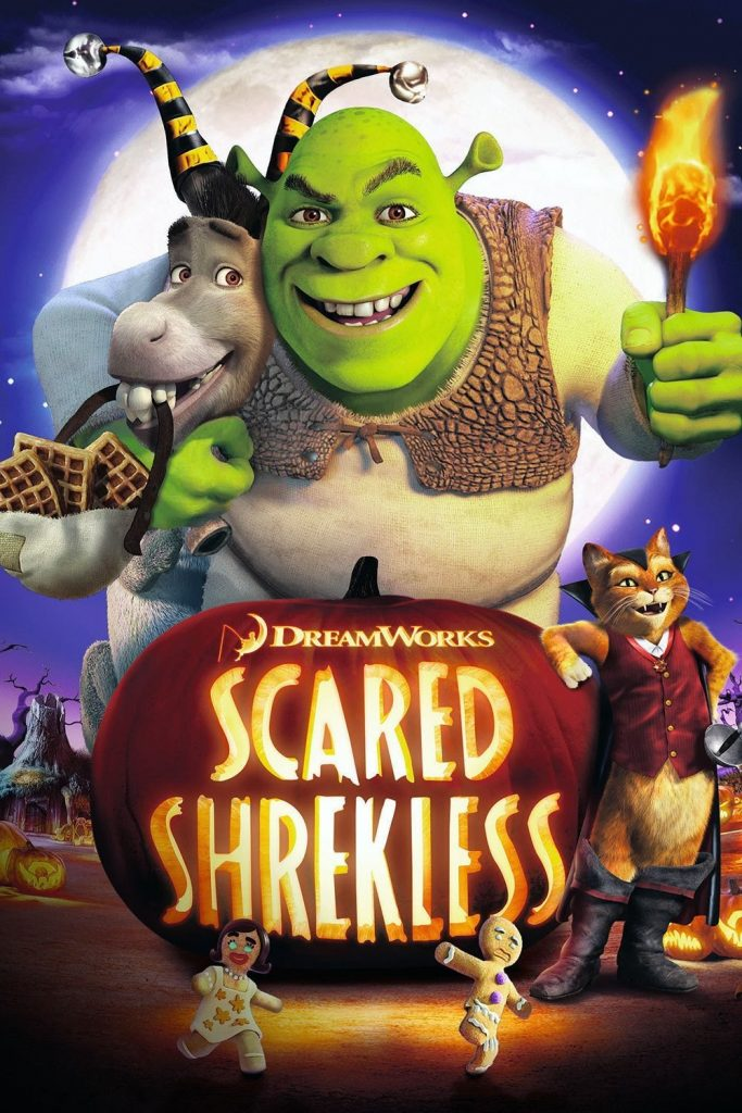 Scared Shrekless movie, Shrek, Scared Shrekless movie poster