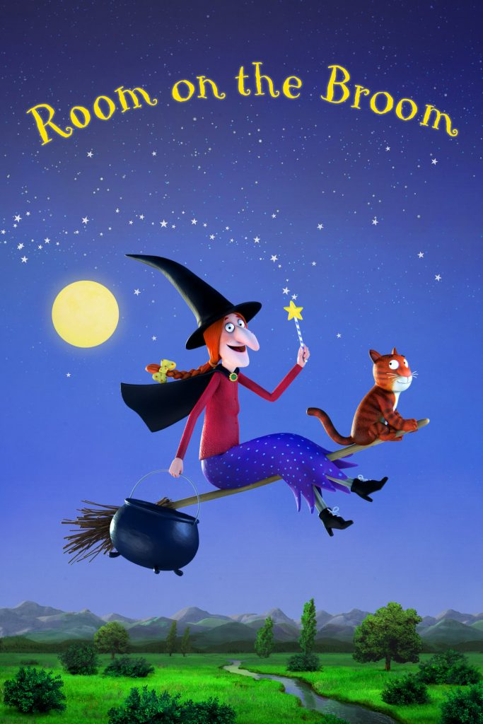 Room On The Broom movie poster, Room On The Broom movie