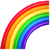 Rainbow emoji, Apple version of the Rainbow emoji