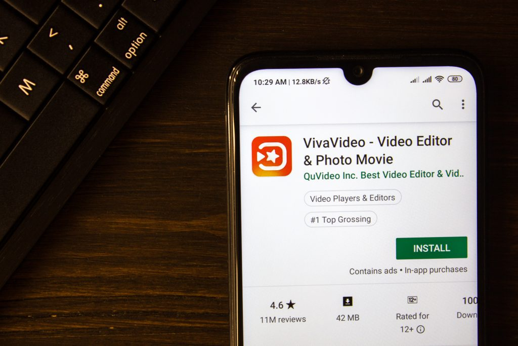 VivaVideo - Video Editor and Photo Movie app, VivaVideo, Flipagram