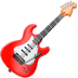 Guitar emoji, Apple version of the Guitar emoji