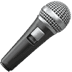 Microphone emoji, Apple version of the Microphone emoji