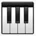 Musical Keyboard emoji, Apple version of the Musical Keyboard emoji, music emoji