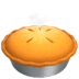 Pie emoji, Apple version of the Pie emoji