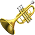 Trumpet emoji, Apple version of the Trumpet emoji, trumpet