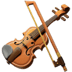 Violin emoji, violin, Apple version of the Violin emoji