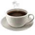 Hot Beverage emoji, Apple version of the Hot Beverage emoji