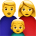 Family emoji, mom emoji, Family Woman, Boy emoji