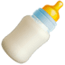 Baby Bottle emoji, mom emoji, Apple version of the Baby Bottle emoji