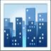 Cityscape emoji, travel emoji