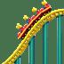 Roller Coaster emoji, roller coaster