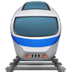 Train emoji, Apple version of the Train emoji