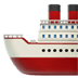 Ship emoji, Apple version of the Ship emoji