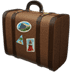 Luggage emoji, travel emoji