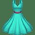 Dress emoji, fashion emoji, clothing emoji