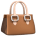 Handbag emoji, bag emoji, Apple version of the Handbag emoji