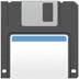 Floppy Disk emoji, Floppy Disk, Apple version of the Floppy Disk emoji