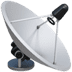 Satellite Antenna emoji, Apple version of the Satellite Antenna emoji