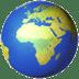 Globe Showing Europe-Africa