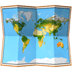 world map emoji