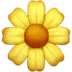 Blossom emoji, Apple version of the Blossom emoji