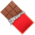 Chocolate Bar emoji, Apple version of the Chocolate Bar emoji