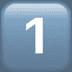 Keycap 1 emoji