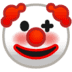 Clown emoji, Google's version of the Clown emoji