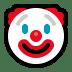 Windows Clown emoji, Clown emoji of Windows