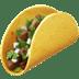 Taco emoji, Apple version of the Taco emoji