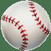 Baseball emoji, Apple version of the Baseball emoji