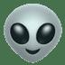 Alien emoji, Apple version of the Alien emoji