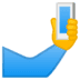 Selfie emoji, Google's Selfie emoji
