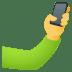 Selfie emoji, JoyPixel's Selfie emoji