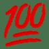 100 emoji, hundred points emoji