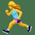 woman running emoji