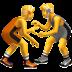 Fighting emoji, apple version of the fighting emoji