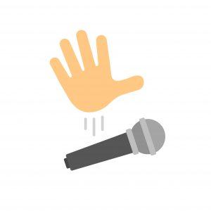 Mic Drop Emoji
