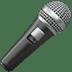 Microphone Emoji, Mic Emoji