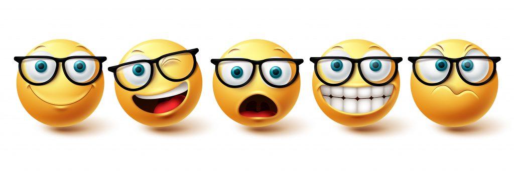 Nerd Emoji Emotions, Nerd Emoji