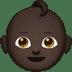 Baby: Dark Skin Tone