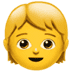 🧒 child Emoji on Apple Platform